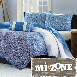 Mi Zone Calypso 4-piece Quilt Set