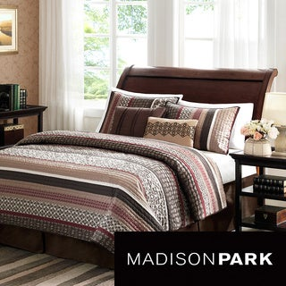 Madison Park Dartmouth 5-piece Coverlet Set