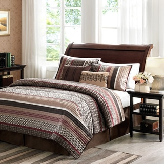 Madison Park Dartmouth 5-piece Coverlet Set