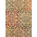 Oversized Floral Ivory/ Multi Rug (7'10 x 10')