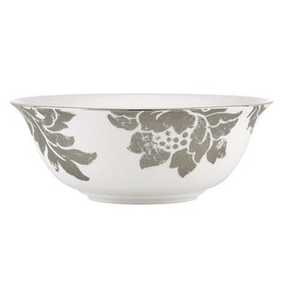 Lenox Silver Applique Serving Bowl