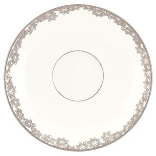 Lenox Silver Bouquet Saucer