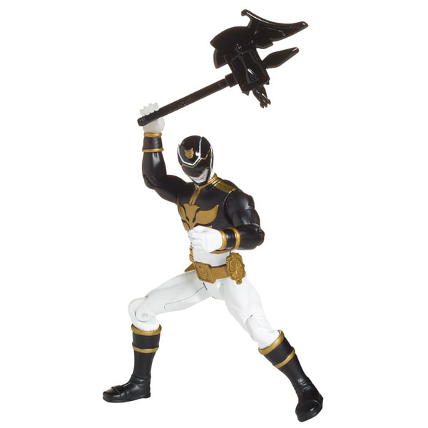 Bandai Power Rangers Black Ranger 4-inch Action Figure 11849017
