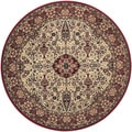 Everest Ardebil Ivory/ Red Rug (3'11 Round)