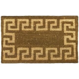 Rubber-Cal Sparta 18x30-inch Coco Doormat