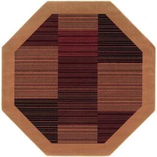 Everest Hamptons Camel Rug (3'11 Octagon)