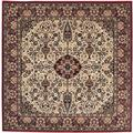 Everest Ardebil Ivory/ Red Rug (3'11 Square)