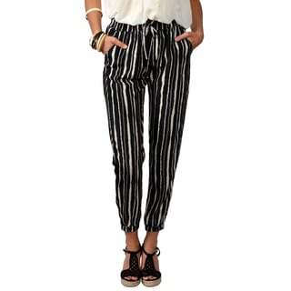 Journee Collection Junior's Silky Drawstring Pants