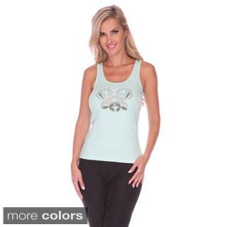 Stanzino Women's Beaded Tank Top