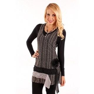 Lily Women's Mesh Vest Tunic