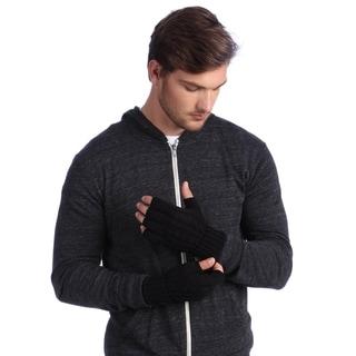 MUK LUKS Men's Knit Cable Gloves