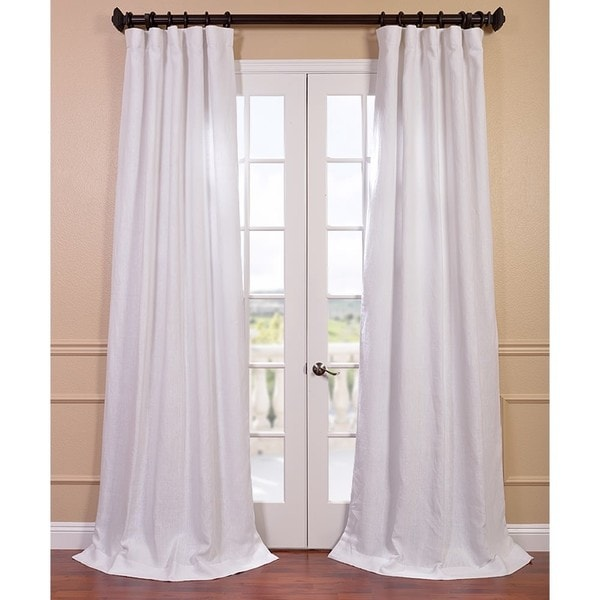 Turquoise Curtains Window Treatments Natural Linen Curtain Panels