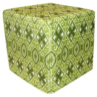 Handcrafted Eva Outdoor Pouf Ottoman (India)