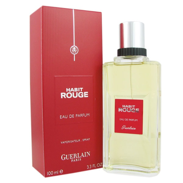 Guerlain Habit Rouge Men's 3.3-ounce Eau de Parfum Spray