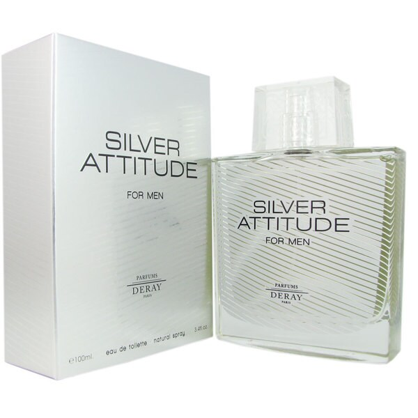 Deray Silver Attitude Men's 3.4-ounce Eau de Toilette Spray