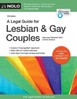 A Legal Guide for Lesbian and Gay Couples (Paperback)