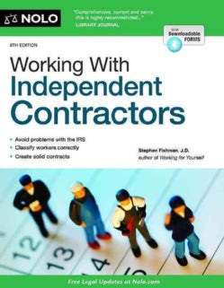 Working With Independent Contractors (Paperback)