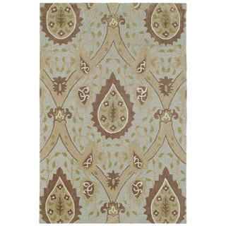 Brookside Mint Blue William Morris Polyester Rug (7'6 x 9'0)