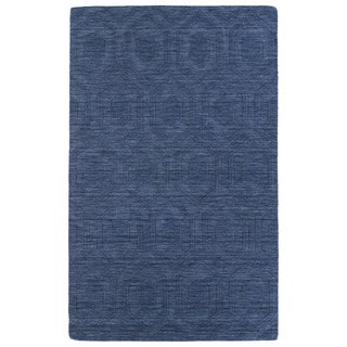 Trends Denim Loft Wool Rug (5' x 8')