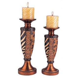 Safari Candleholder (Set of 2)