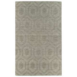Trends Light Brown Loft Wool Rug (8' x 11')