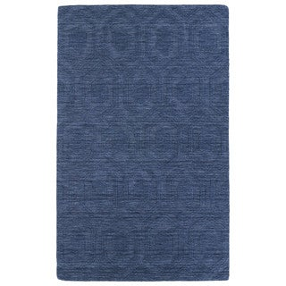 Trends Denim Loft Wool Rug (8' x 11')
