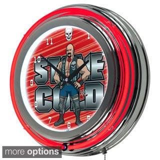 WWE Neon Clock