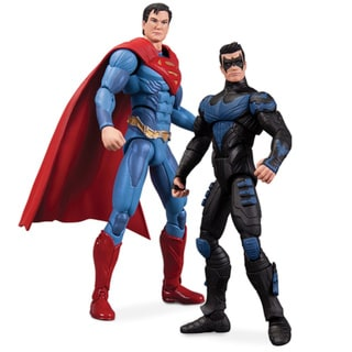 DC Comics Injustice Nightwing vs Superman 2-piece Action Figure Set