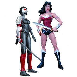 Wonder Woman vs. Katana Action Figure (Pack of 2)