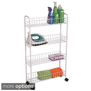 4-tier Rolling Bath Storage Cart