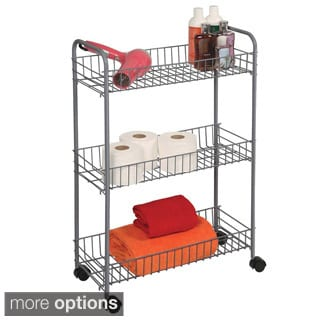 3-Tier Medium Bath Accessories Cart