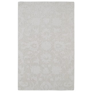 Trends Ivory Classic Wool Rug (3'6 x 5'6)