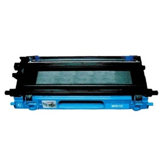 BasAcc Cyan Ink Cartridge Compatible with Brother TN115