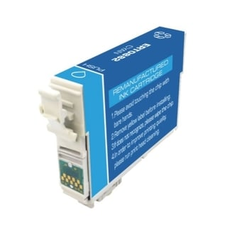 Epson-Compatible T088220 Cyan Cartridge (Remanufactured)