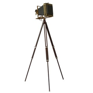 Vintage 19th Century Tripod Camera Accent Home Decor
