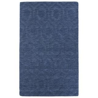 Trends Denim Loft Wool Rug (9'6 x 13'6)