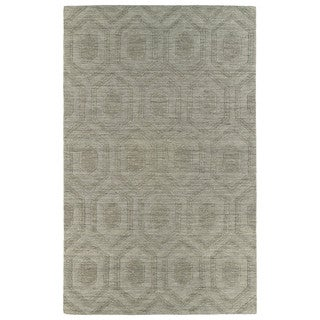 Trends Light Brown Loft Wool Rug (9'6 x 13'6)