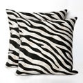 Set of Two Skin 20-inch Throw Pillow (Set of 2)
