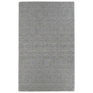 Trends Steel Grey Loft Wool Rug (8' x 11')