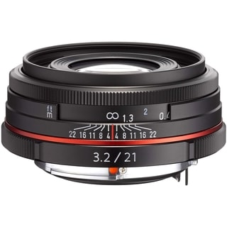 Pentax DA Limited 21 mm f/3.2 Wide Angle Lens for Pentax KAF