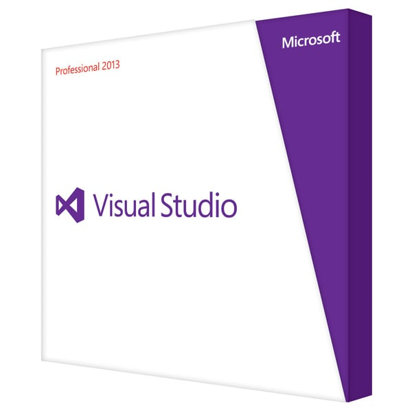 Microsoft Visual Studio 2013 Professional With MSDN - Subscription (R