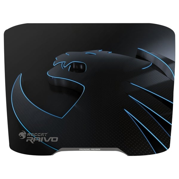Roccat Raivo Stealth Black - High-Velocity Gaming Mousepad
