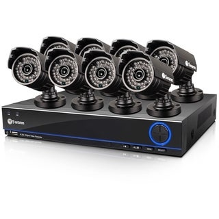 Swann DVR8-3200 8-Channel 960H Digital Video Recorder & 8 x PRO-642 C