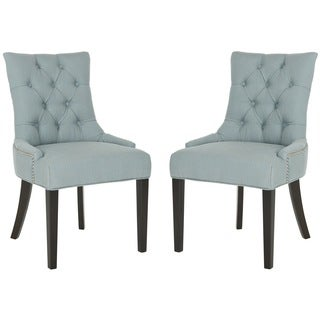 Ashley Sky Blue Side Chair (Set of 2)