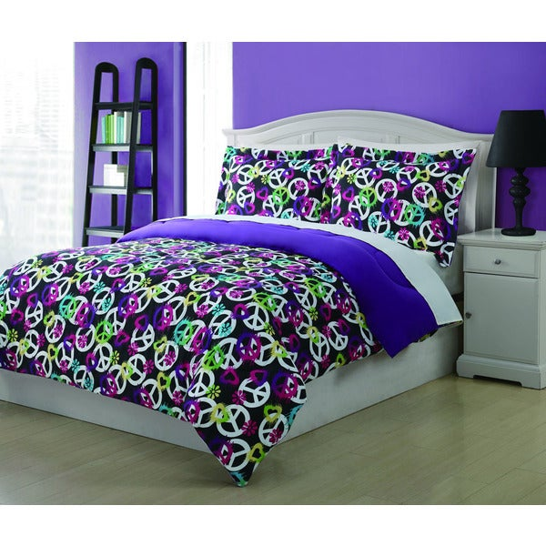 Painterly Peace 3-piece Comforter Set