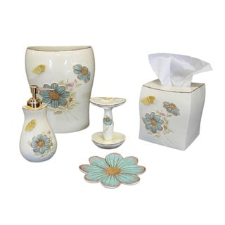 Sherry Kline Elindale Bath Accessory 5-piece Set