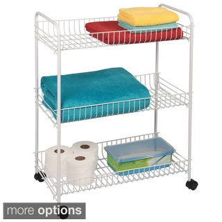 3-tier Large Bath Storage Cart