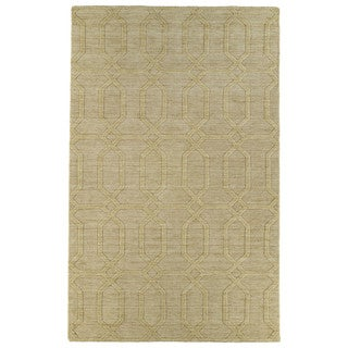 Trends Yellow Pop Wool Rug (9'6 x 13'6)