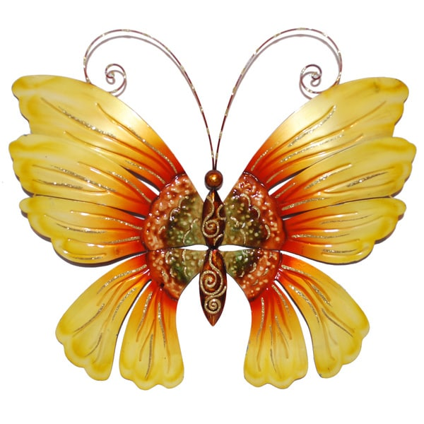 Handcrafted Large Butterfly Wall Art (Philippines)