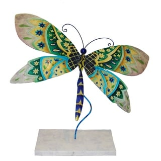 Handcrafted Quilted Standing Dragonfly (Philippines)